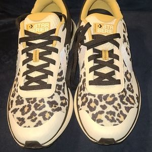 New Converse Star Series Leopard design size…